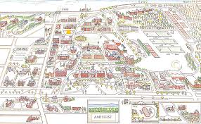 amherst map map from the ceremony to the reception fall wedding in amherst