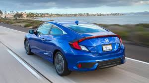 Honda Civic Si Two Door 2017 Honda Civic Coupe Touring Quick Take With Specs Photos