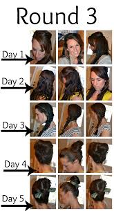 wavy hair after three months one year without shoo the no poo method the crunchy moose