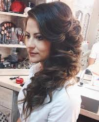 side swoop hairstyles 45 side hairstyles for prom to please any taste