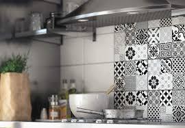 autocollant pour carrelage cuisine stunning stickers tuile vinyle salle de bain contemporary