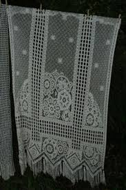 French Lace Kitchen Curtains French Lace Cafe Kitchen Curtains Or Pelmet By Fromparistoprovence