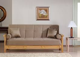 microfiber living room w wooden frame storage sleeper sofa