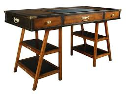 furniture old black desk design with storage and drawers the