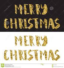 vrolijk kerstmis het van letters voorzien ontwerp het goud