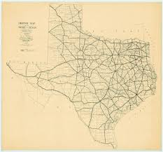 Old Texas Map File 1922 Texas State Highway Map Jpg Wikimedia Commons