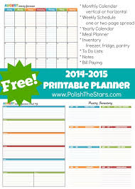 printable agenda calendar 2014 29 best planner images on pinterest planners journal ideas and