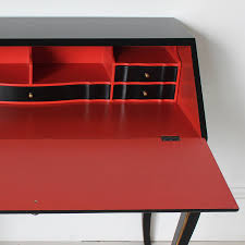 french secretary desk in black by out there interiors