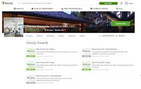 best home builder website design barker kappelle construction