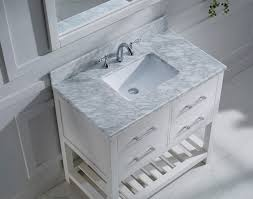 Virtu Bathroom Accessories by Virtu Usa Caroline Estate 36 Single Bathroom Vanity Set In White