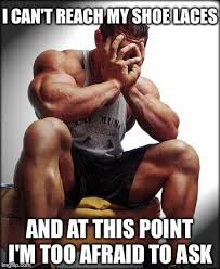Bodybuilder Meme - depressed bodybuilder meme generator imgflip