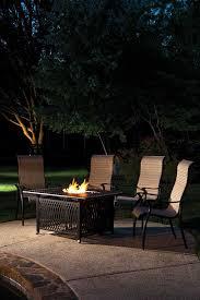 Alfresco Home Outdoor Furniture by Alfresco Home Pescara Cast Aluminum 50 Rectangular Gas Fire Pit