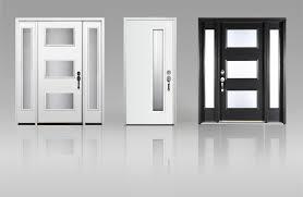 Steel Or Fiberglass Exterior Door Clopay Adds Modern Style To Fiberglass And Steel Entry Doors