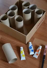 Idee Rouleau Papier Toilette Créer Un Pot à Crayons Diy Rentrée Rangement