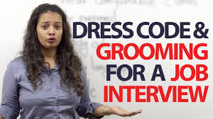 dress code u0026 grooming tips for a job interview free spoken