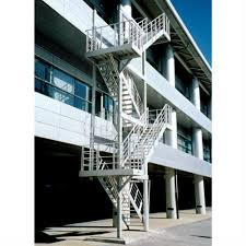 Prefabricated Aluminum Stairs by Jomy Counterbalanced Stairs For Optimal Use Of Space