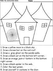 halloween reading worksheets for kids halloween theme ideas u2013 20