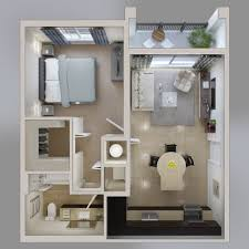 3d pictures of cheapest one bedroom apartments in nyc