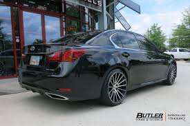 lexus gs accessories lexus gs with 20in tsw chicane wheels exclusively from butler