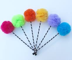 Pom Pom Trees Trufula Tree Inspired Party Favors Or Centerpiece Premium