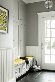 Beadboard Bench - entryway storage bench entry traditional with beadboard