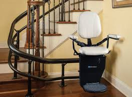 stair lifts for the elderly stair chair lift a great help for