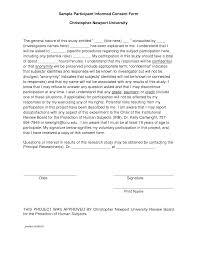 best photos of examples informed consent form templates informed