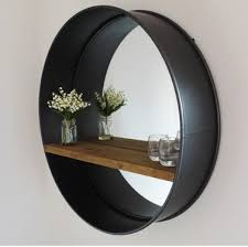 Mirror With Shelves by Best 25 Industrial Mirrors Ideas Only On Pinterest Mirrors