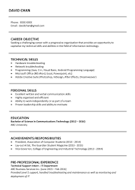 Sample Resume Word Document by Resume Different Computer Skills File Clerk Sample Resume Blank
