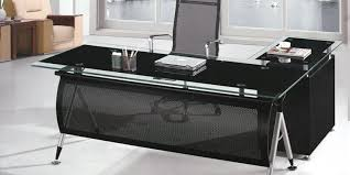 Office Glass Desk Modern 5 Executive Tablemanager Tableoffice Furniture