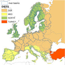the water footprint of agricultural products in european river
