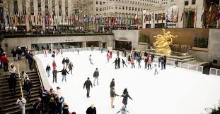 rockefeller center s skating rink is officially open in new