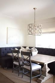 Banquette Dining Room Furniture Best 25 Tufted Dining Chairs Ideas On Pinterest Dinning Table