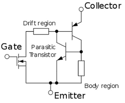 igbt structure and circuit working withapplications
