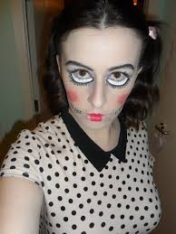 Doll Face Makeup For Halloween Halloween U2013 Loulovesshoes U0027s Blog