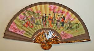 silk fan bargain oz geniune silk fan large wall fan