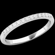 inel diamant verigheta cu diamant inel eternity dama aur alb 18kt cu 15
