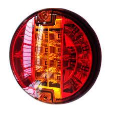 led brake lights for trucks emark 140mm 20led trailer truck stop tail lights amber left right