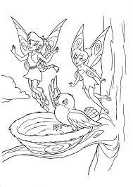 tinkerbell fawn goodbye bird disney fairies