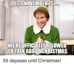 November Meme - its november 1st were officially allowed to talkabout christmas 55