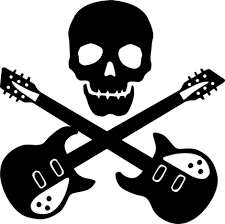 skull and guitar design ideas hicustom on we it