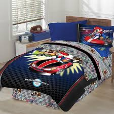 Mario Bros Bed Set Mario Bros Bedding And Bath Collection Bed Bath Beyond