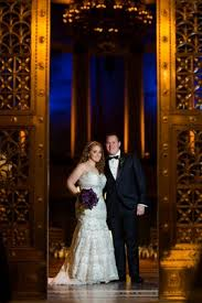 New York City Wedding Venues Gatsby Inspired Jewish Wedding With Purple U0026 Gold Décor In New
