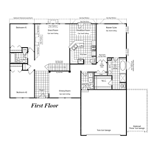 Cul De Sac Floor Plans New Homes In St Charles County Mo Aspen 3 Bedroom Ranch House
