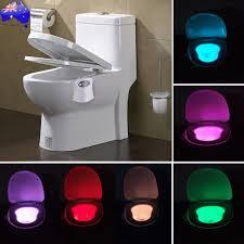 premium motion sensor toilet led night light home bathroom