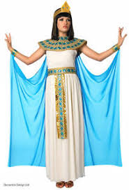 Ladies Cleopatra Costume Egyptian Princess Mummy Queen Dress