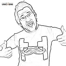 u0027s 7 free youtuber colouring book pictures download