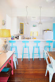 Coastal Kitchen And Bar - coastal kitchen coastal kitchen with turquoise and yellow decor