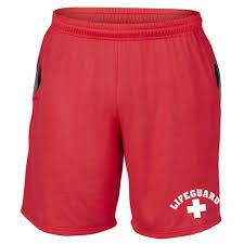 lifeguard shorts swim shorts baywatch shorts