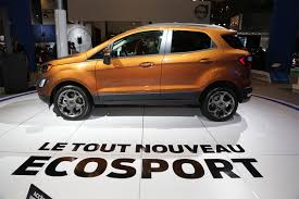 used lexus suv montreal the ford ecosport at the montréal auto show trucks and suvs